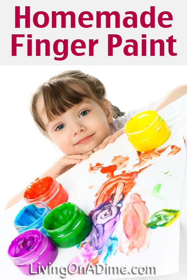 Hausgemachtes Fingerfarben-Rezept