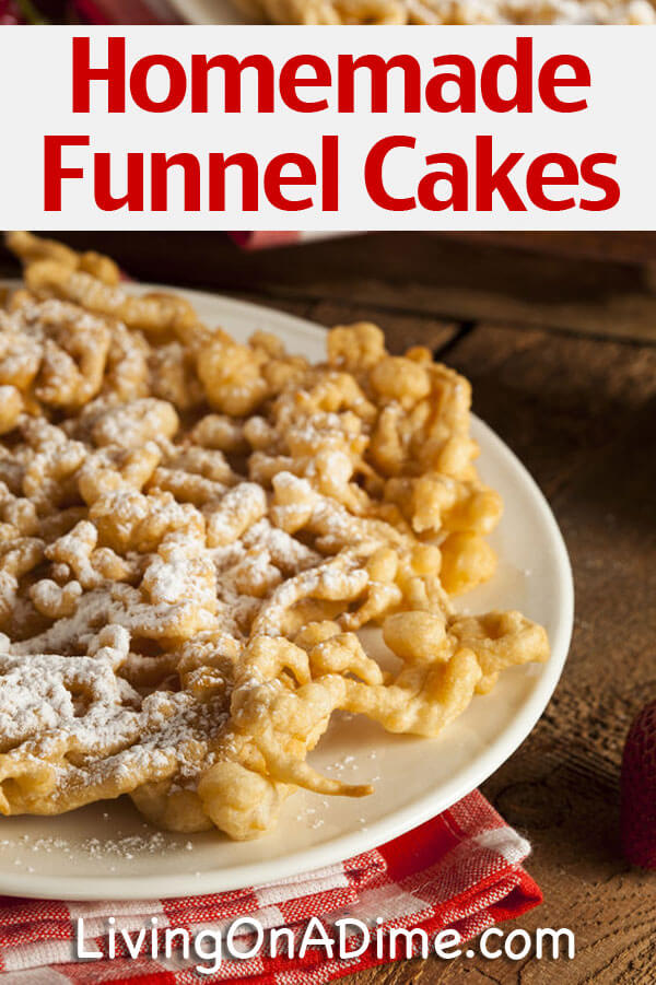Easy Bisquick Funnel Cake Recipe