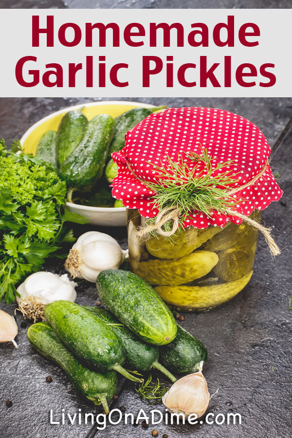 Homemade Garlic Pickles Recipe