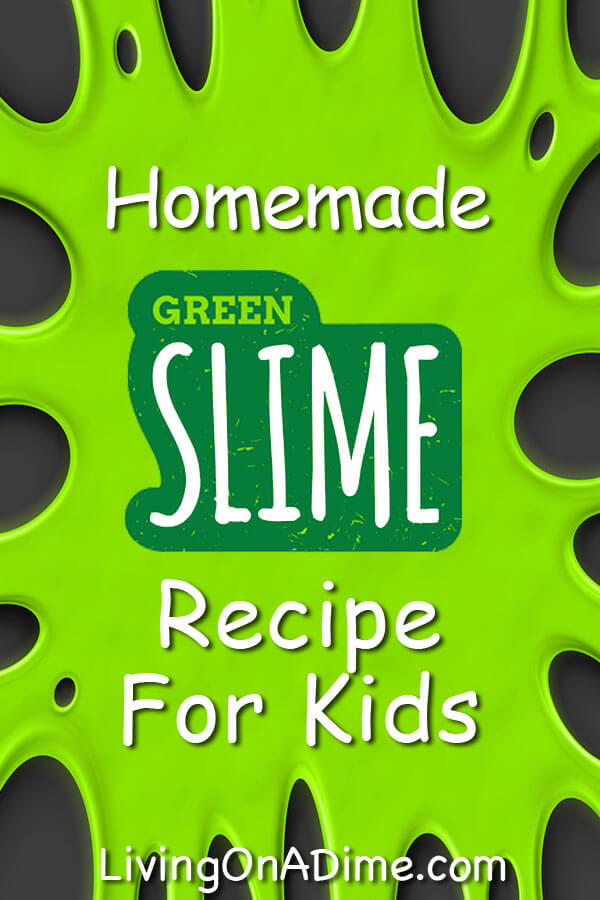 Homemade Slime Recipe For Kids