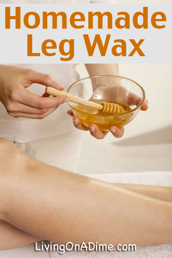 Homemade Leg Wax Recipe
