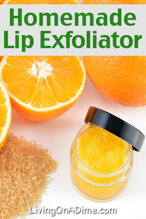 Homemade Lip Exfoliator Recipe