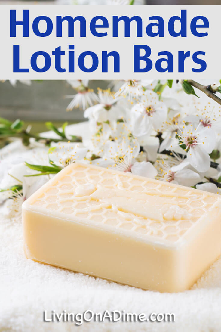 This homemade lotion bars recipe is one of our new FAVORITE recipes! We just love using these lotion bars for everything, especially in the winter when it's so dry! The best part is that the recipe takes just a few minutes to make and you can easily make several bars at once.