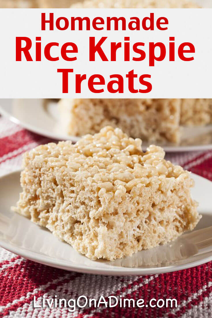 5 Ways To Make Rice Krispie Treats - Homemade Rice Krispie Treats Recipes