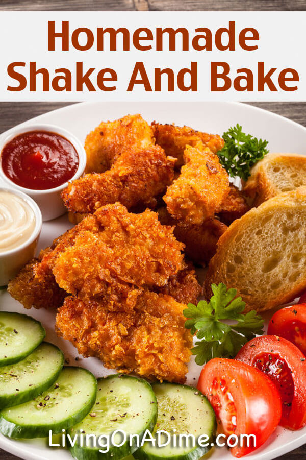 Homemade Shake And Bake Recipe - 10 Foods You Didn't Know You Could Make At Home
