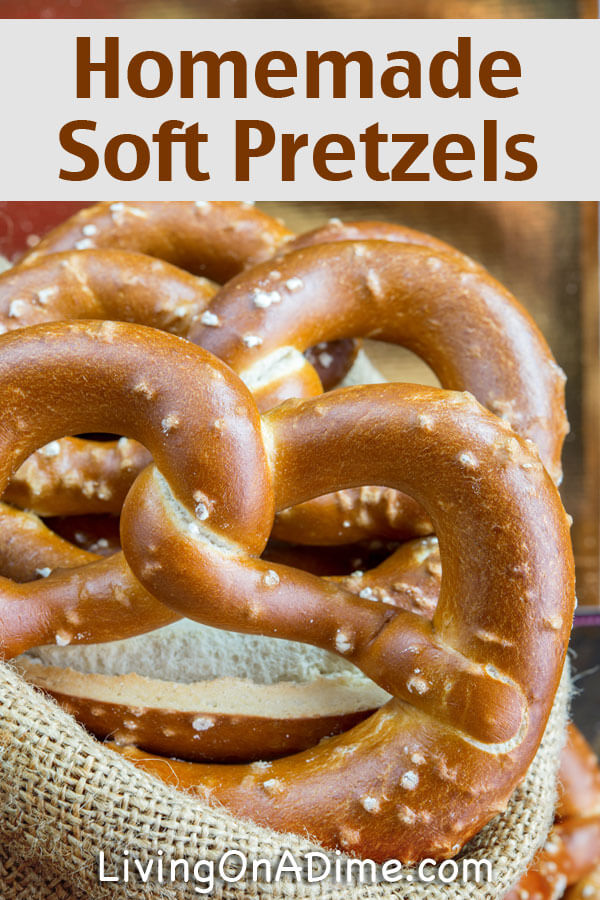 This quick and easy homemade soft pretzels recipe is easy to make with ...