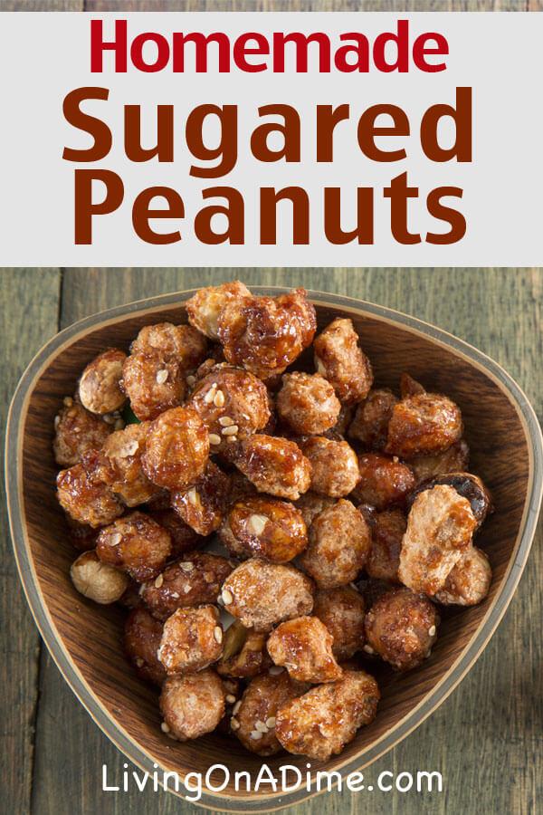 Sugared Peanuts Recipe How To Make Sugared Peanuts