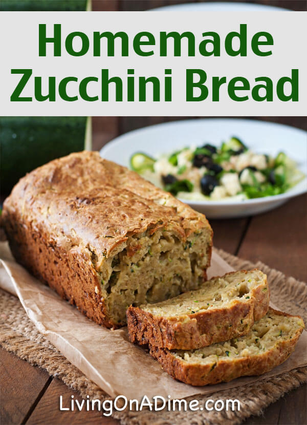 This easy homemade zucchini bread recipe is a super special treat and is a great way to use all of the extra garden zucchini this time of year!