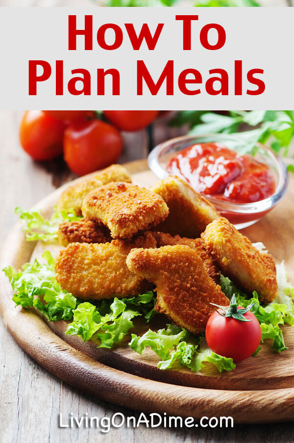 Meal Planning - How To Plan Meals