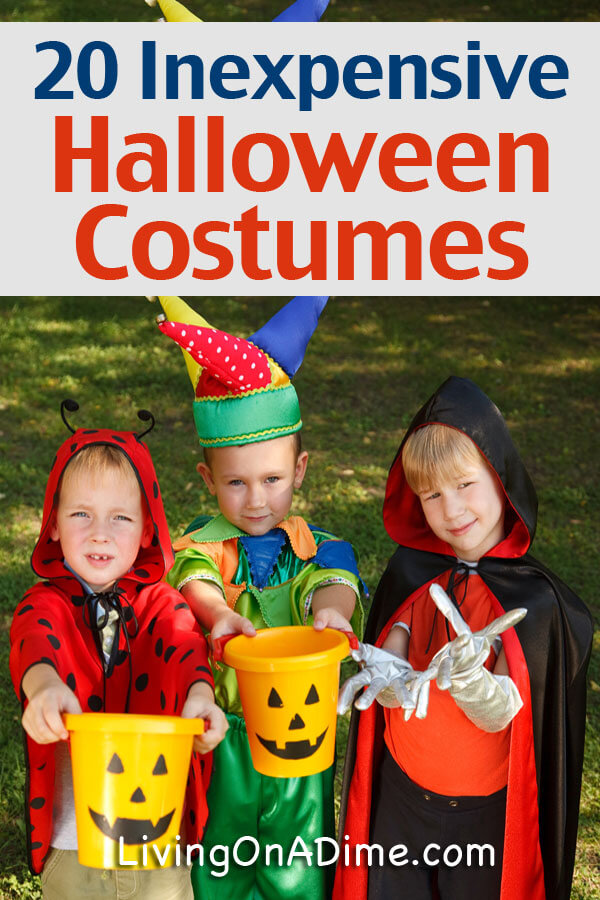 use these fun and cute halloween costume ideas for kids and make them right up
