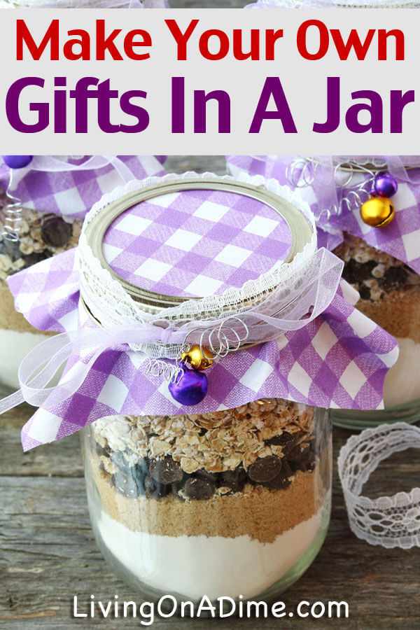 Jar mix recipes can make inexpensive gifts that are more personalized. Save money and time with these homemade mixes and recipes for gifts in a jar.