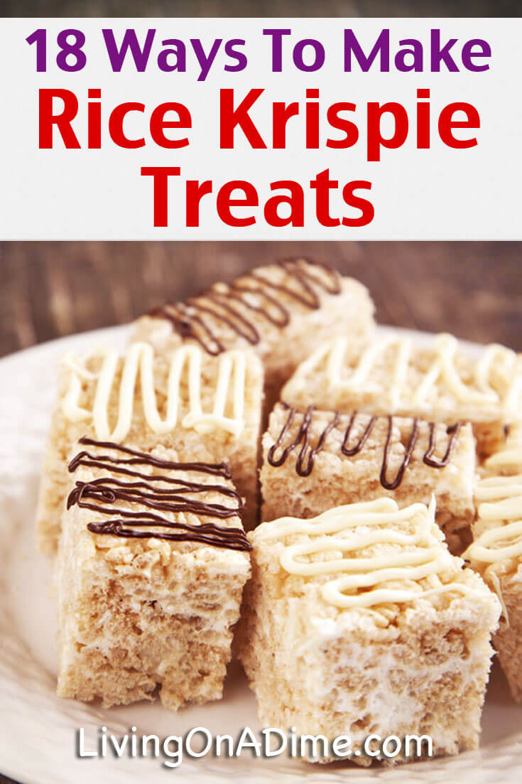 Homemade Rice Krispie Treats Recipes