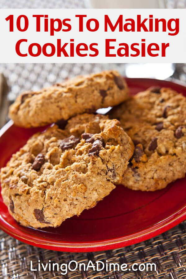 10 Tips To Making Cookies Easier!