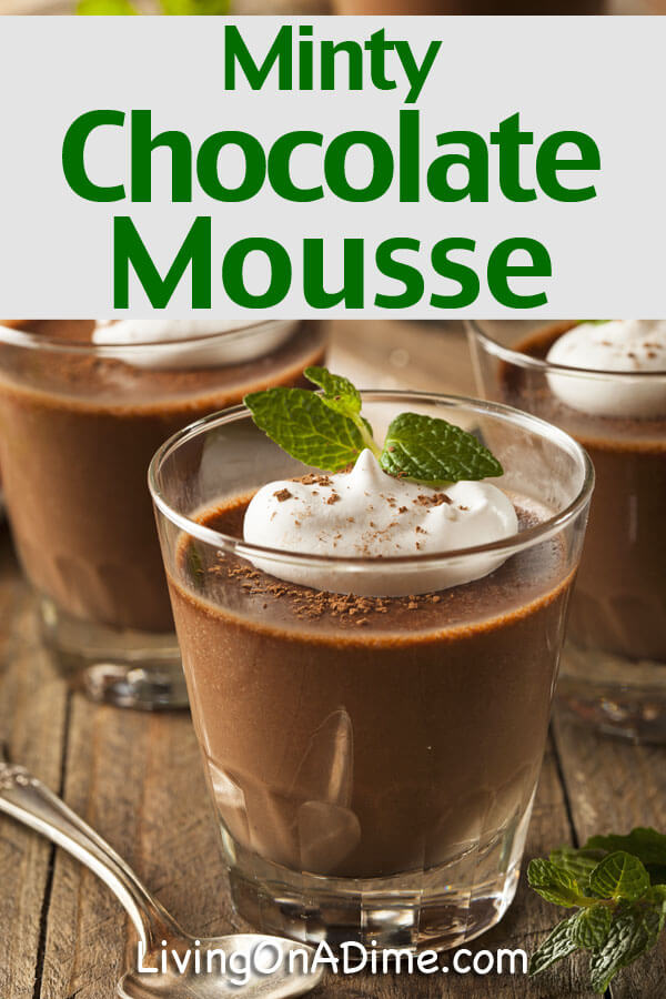 Minty Chocolate Mousse Recipe - Click Here For This Yummy Recipe!