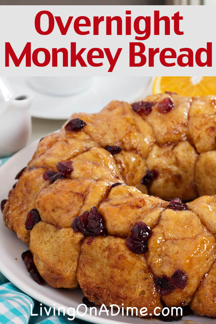 this overnight monkey bread recipe also called bubble bread is an easy yet tasty