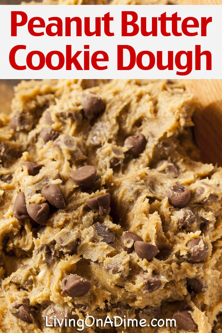This easy edible peanut butter cookie dough recipe is a yummy peanut butter favorite that is safe to eat raw, so you can whip up the ingredients and have an easy snack without having to wait! And who can resist peanut butter and chocolate chips! Yum!