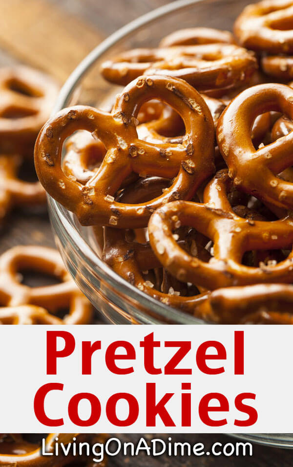 Super Yummy Pretzel Cookies Recipe Easy Recipe For Pretzel Crumbles