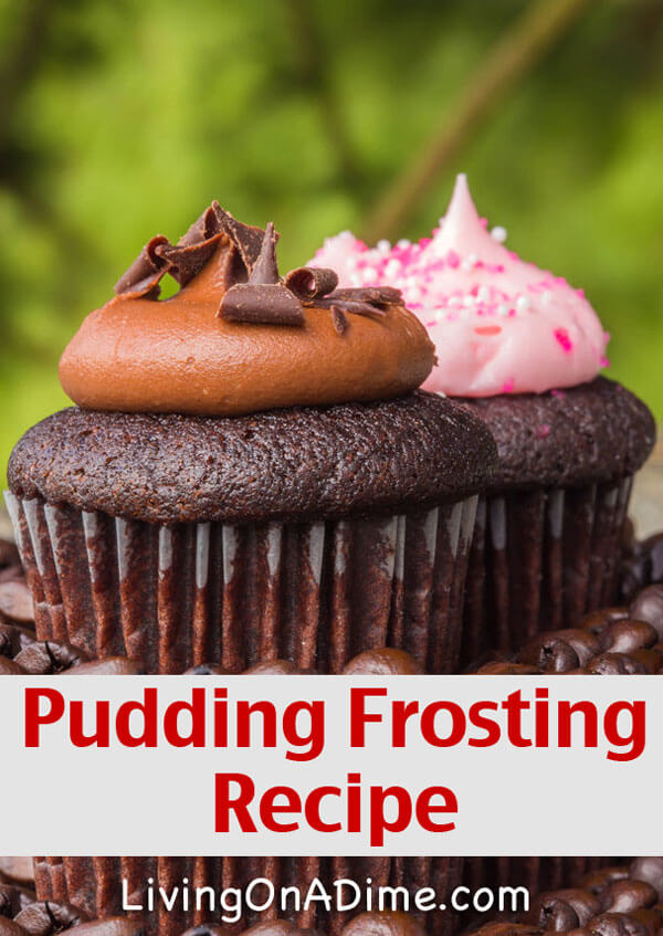 Pudding Frosting Recipe
