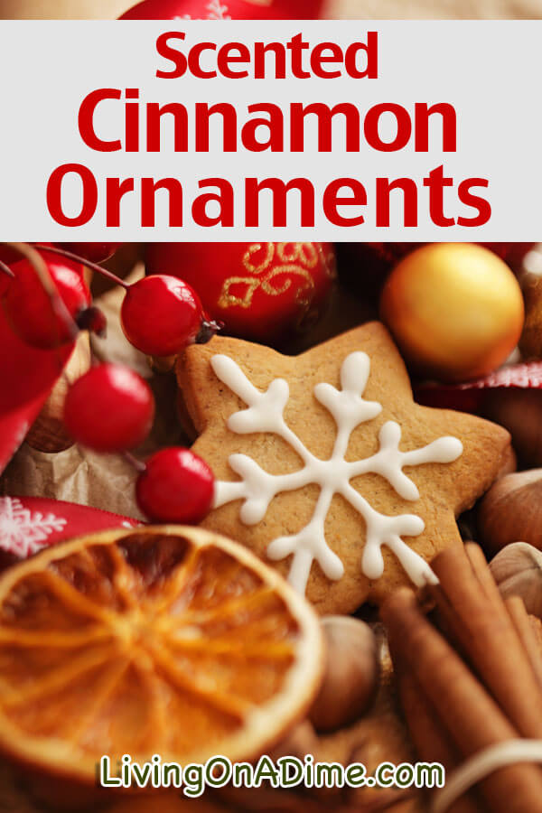 This scented cinnamon ornaments recipe makes delightful holiday ornaments with a special Christmas smell that will bring a pleasant atmosphere to your home!