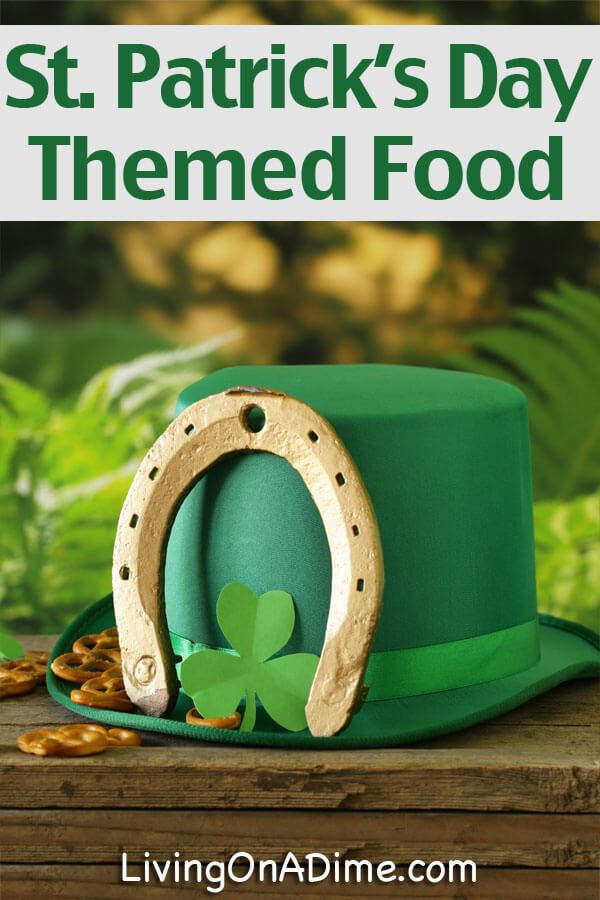 St. Patrick's Day Themed Food