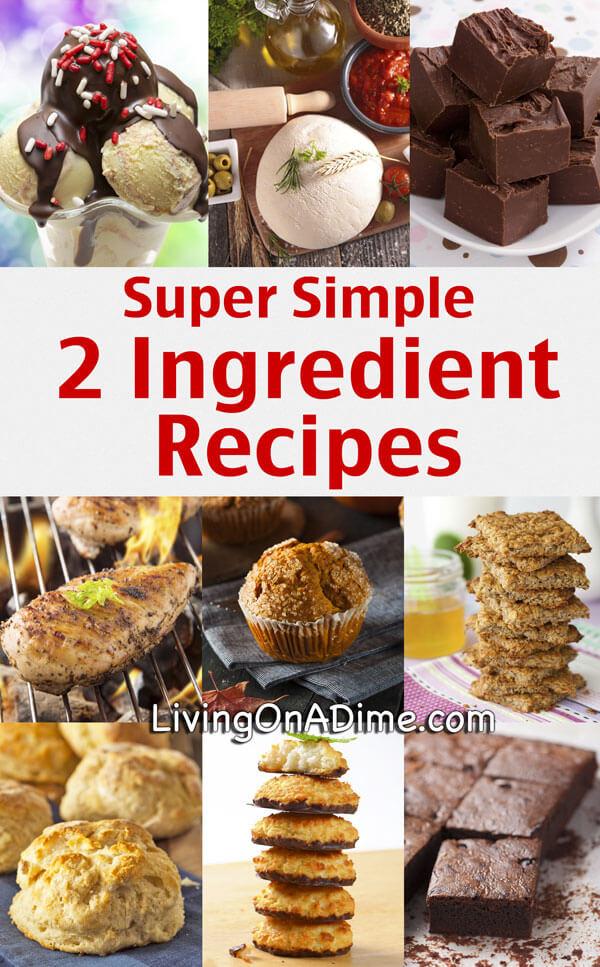 Easy Dessert Recipies with minimal ingredients?