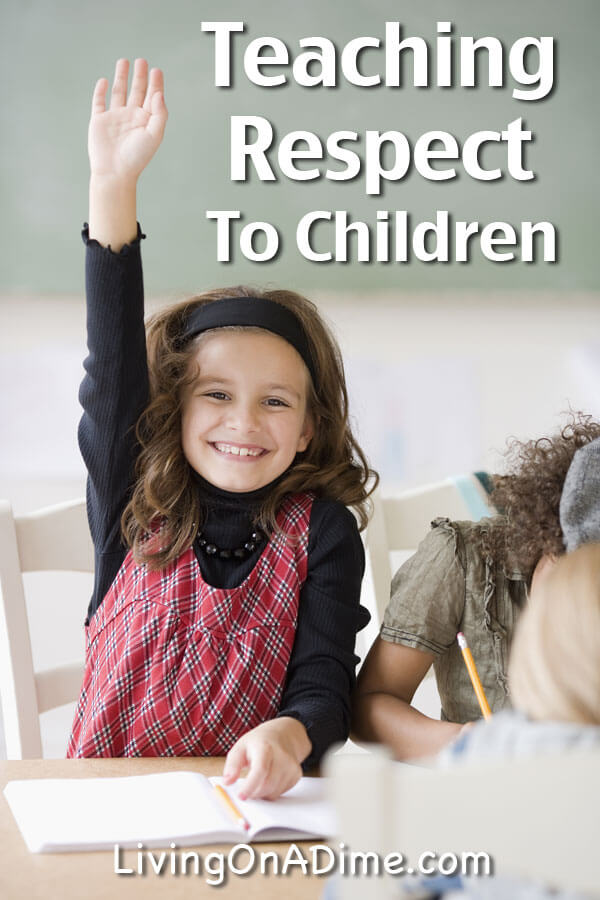 Teaching Respect To Children