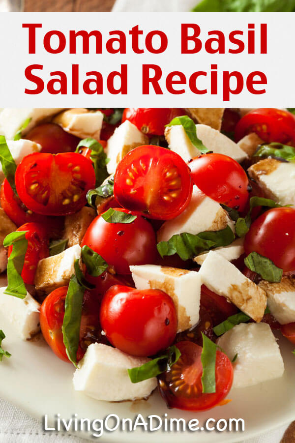 Tomato Basil Salad Recipe