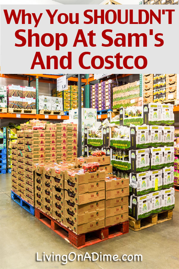 Warehouse Stores - Why You SHOULDN'T Shop At Sams And Costco