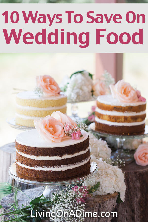 Save money on wedding food and provide a nice experience for your guests! These easy tips will help you plan your wedding menu without breaking the budget!