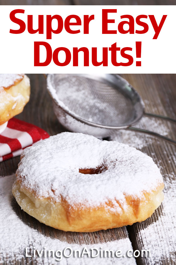 Try these yummy homemade donut recipes you can make at home, including a super easy donut recipe made with refrigerator biscuits and a yeast donut recipe you can make from scratch. No matter which you choose, you're destined for delicious!! Our older kids love the easy donut recipe because they can easily make it themselves!