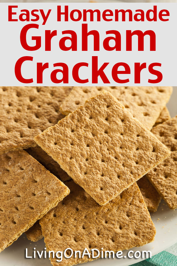 This easy graham crackers recipe makes it simple to make tasty homemade graham crackers at home!