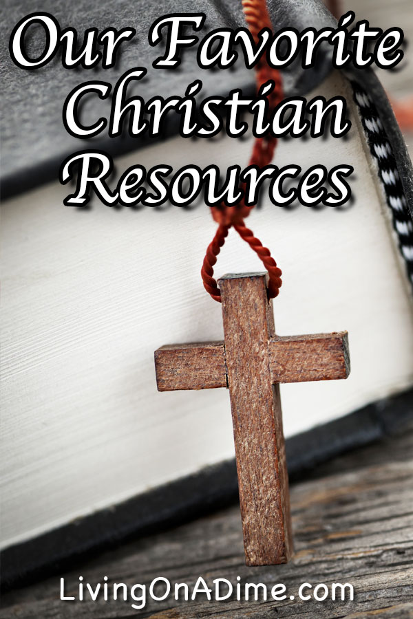 Here is a list of some of our favorite Christian resources, including our favorite Bible translations, Christian speakers, clean books and movies and more!