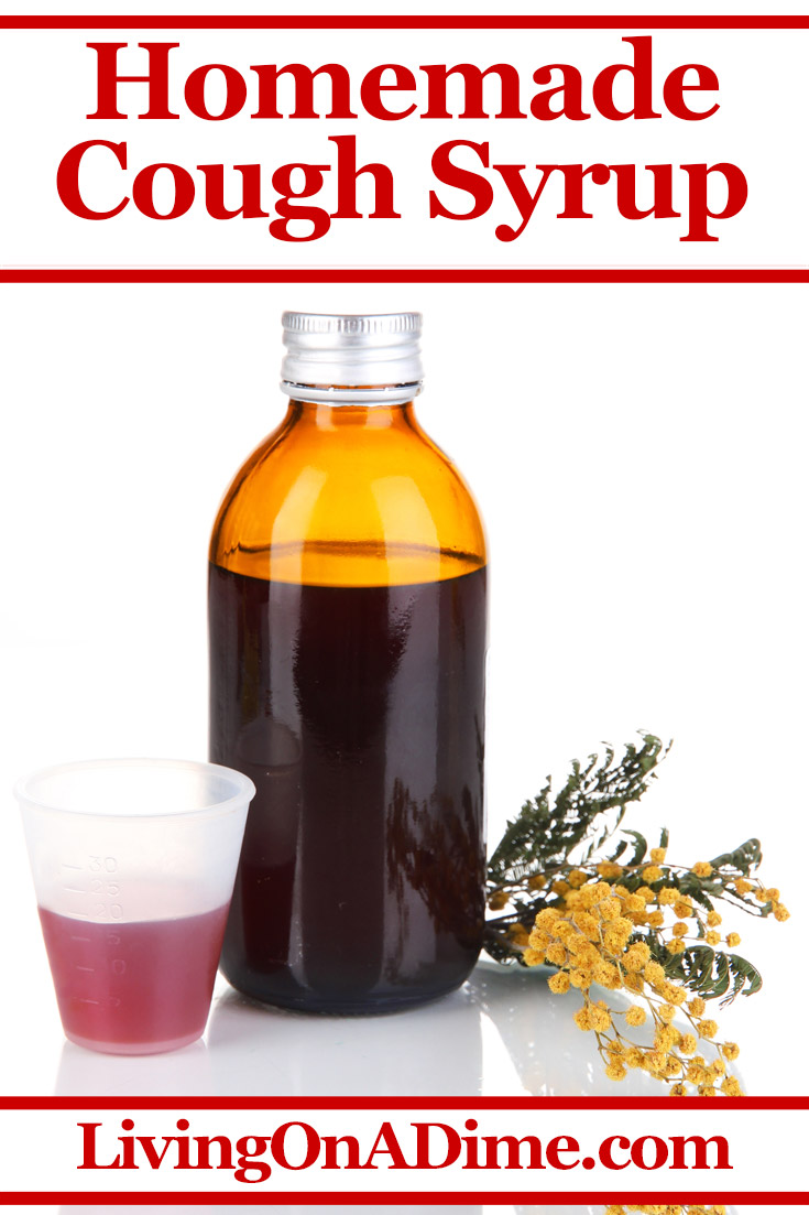This easy homemade cough syrup recipe makes a cough syrup that is great to make if you run out of the store bought kind or if you just prefer something where you know all of the ingredients. I personally like this homemade cough remedy better than the store cough syrup because I feel like it works better. It is super easy to make with ingredients you already have at home.