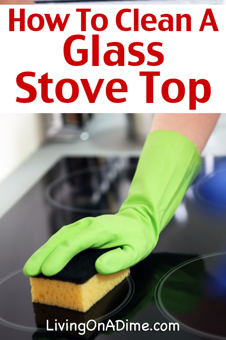How To Clean A Ceramic Top Stove Step