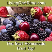 Best Homemade Cinnamon Sour Cream Fruit Dip Recipe