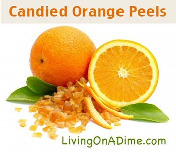 yummy candied orange peels recipe