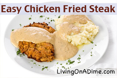 Easy Chicken Fried Steak Recipe