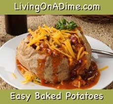 Easy Baked Potatoes Recipes
