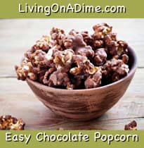 Easy Chocolate Popcorn Recipes