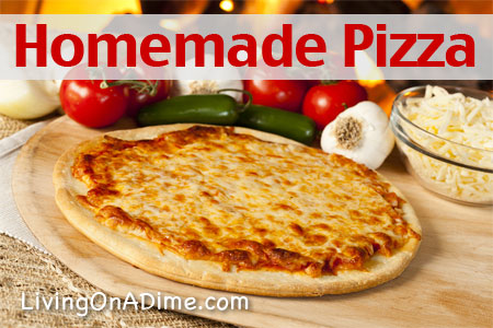 Easy Homemade Pizza Recipe