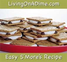 Easy S'Mores Recipe