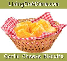 homemade garlic cheese biscuits recipe