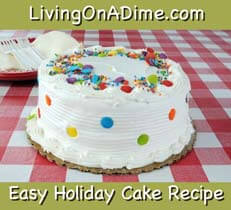 easy holiday cake recipe