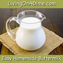 how to make homemade buttermilk recipe
