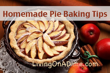 Homemade Pie Baking Tips