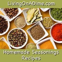 Homemade seasonings recipes and spices