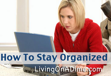 Easy Ideas To Stay Organized