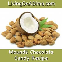Mounds Chocolate Candy Recipe