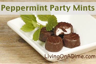 homemade party mints york peppermint patties