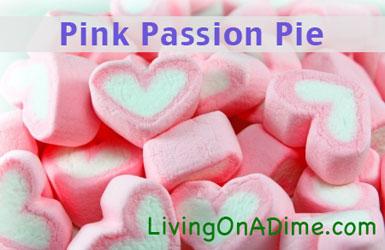Pink Passion Pie Recipe